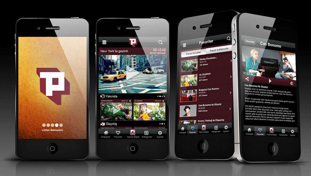 Paylaş Mobile Application Design
