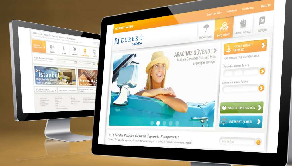Eureko Web Site & Mobile Design