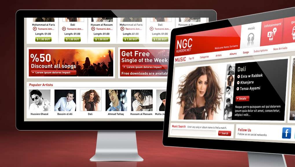 NGC Web Site Design
